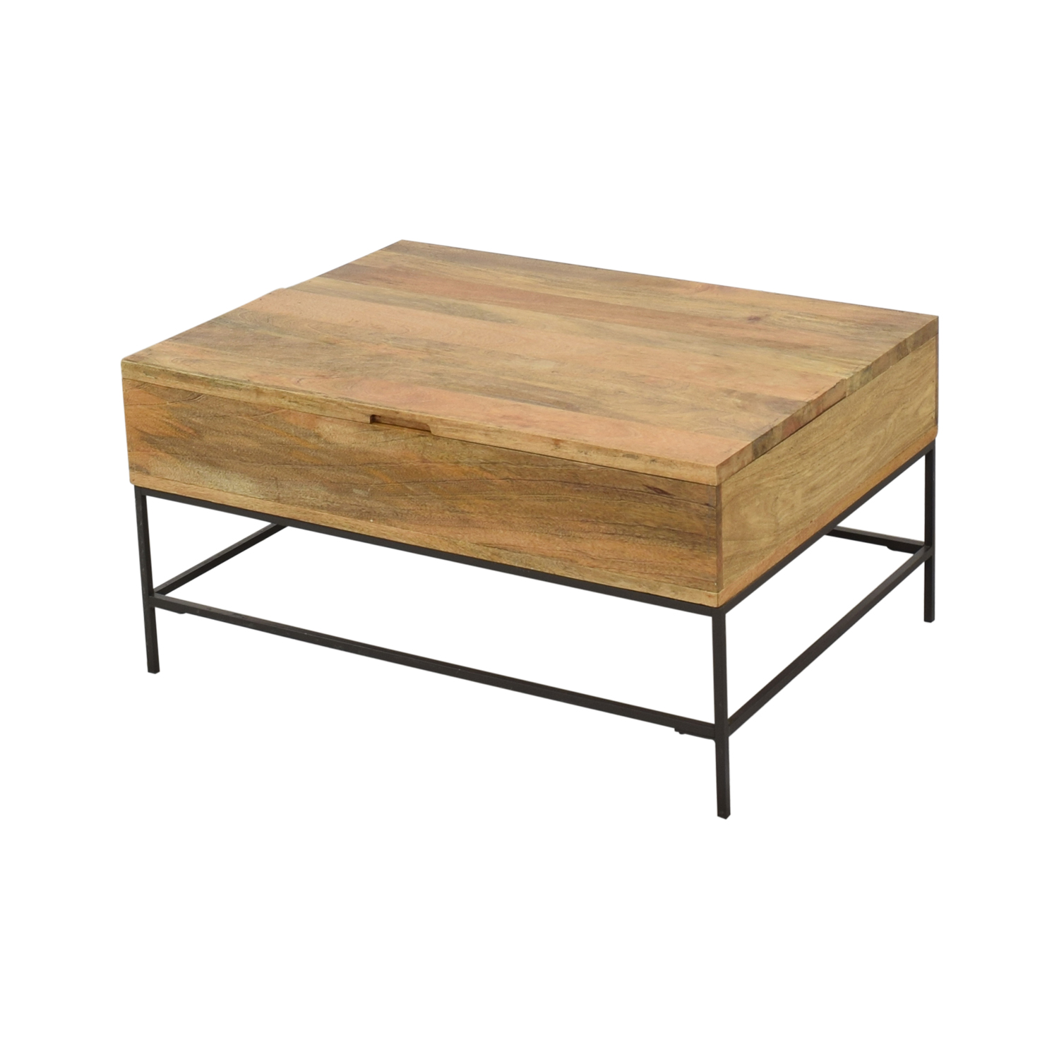 West Elm West Elm Industrial Storage Coffee Table Small ma