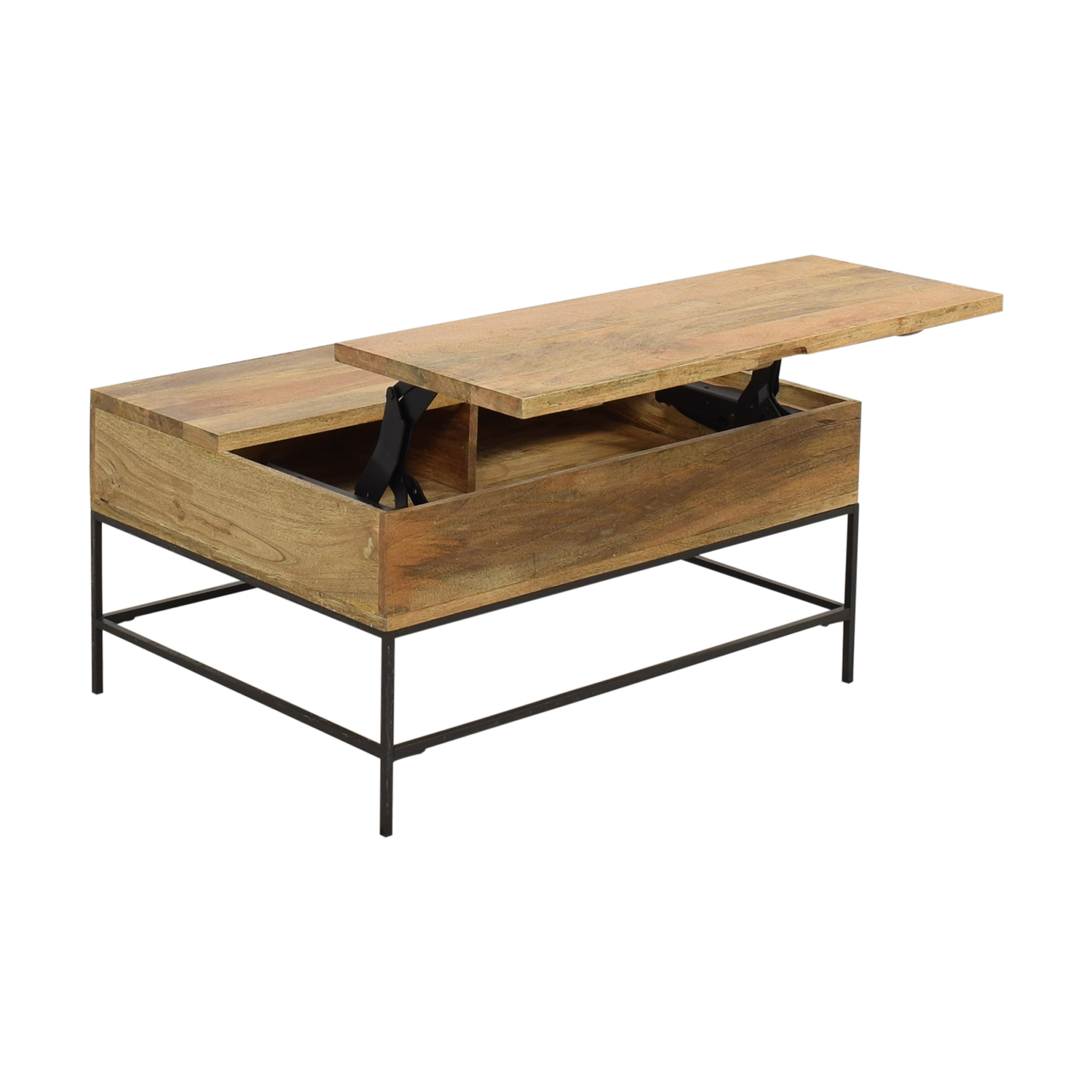 West Elm West Elm Industrial Storage Coffee Table Small Coffee Tables