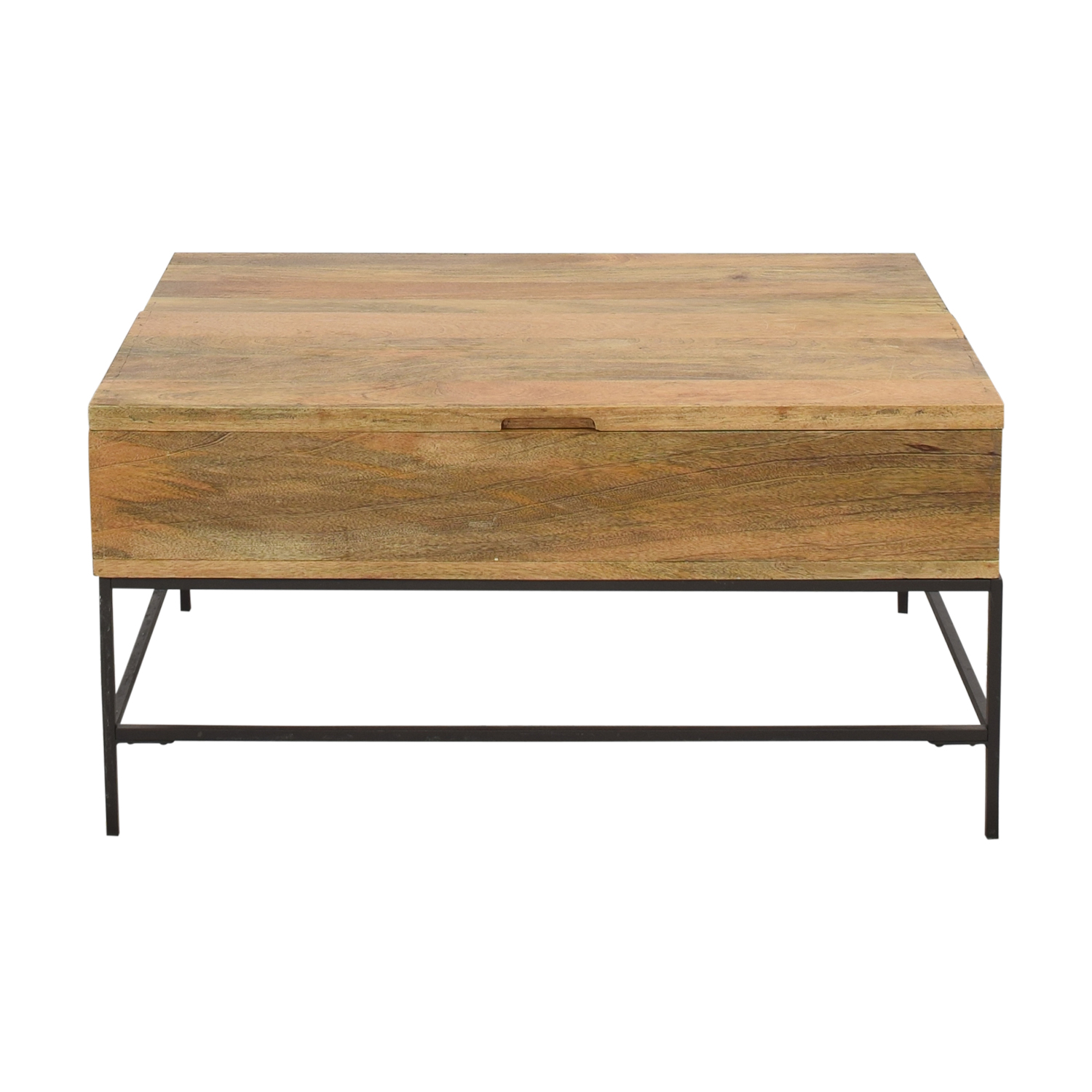 West Elm West Elm Industrial Storage Coffee Table Small Tables