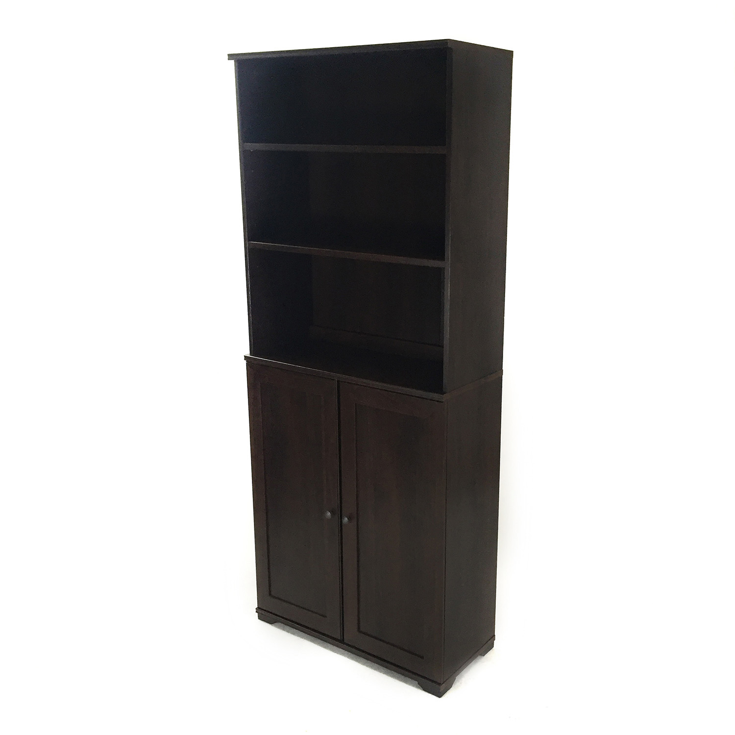 76 Off Ikea Cabinet With Book Shelves Storage