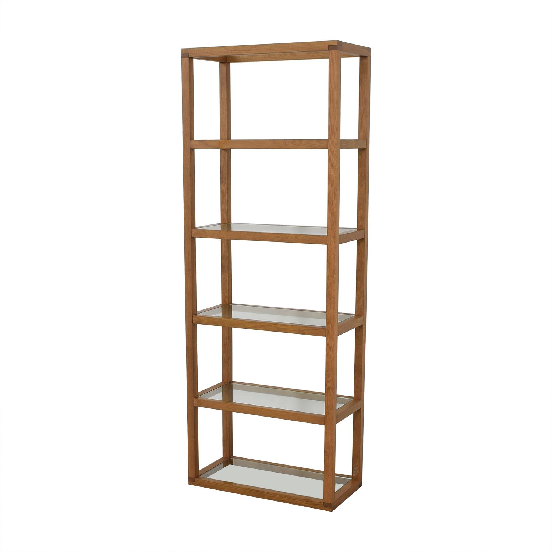 buy Crate & Barrel Five Story Bookcase Crate & Barrel Storage