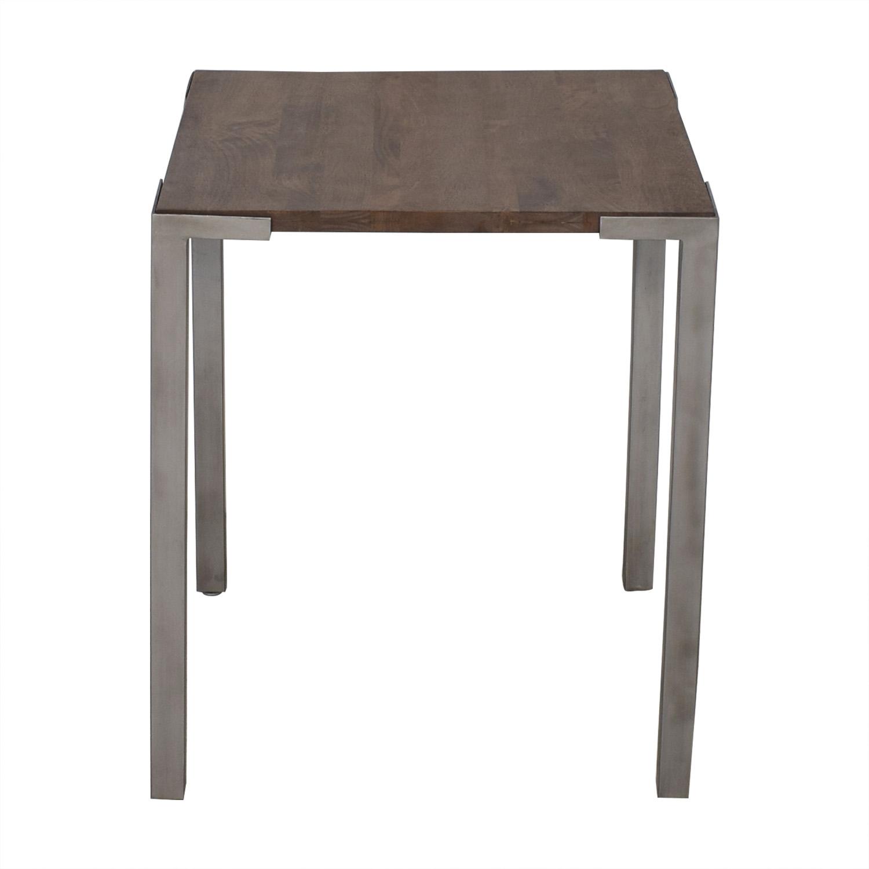 shop CB2 Stilt High Square Counter Table CB2