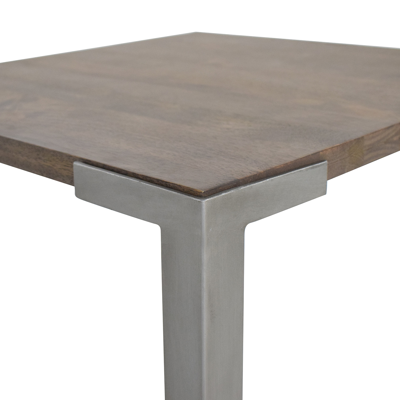 buy CB2 Stilt High Square Counter Table CB2 Tables