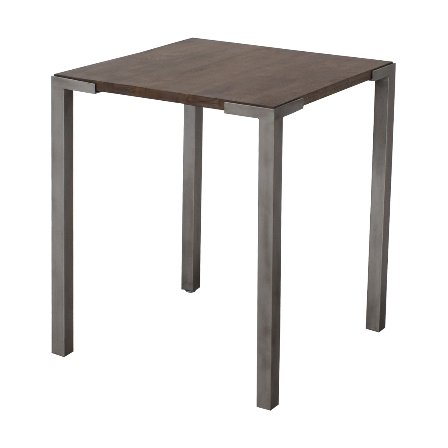CB2 CB2 Stilt High Square Counter Table Accent Tables