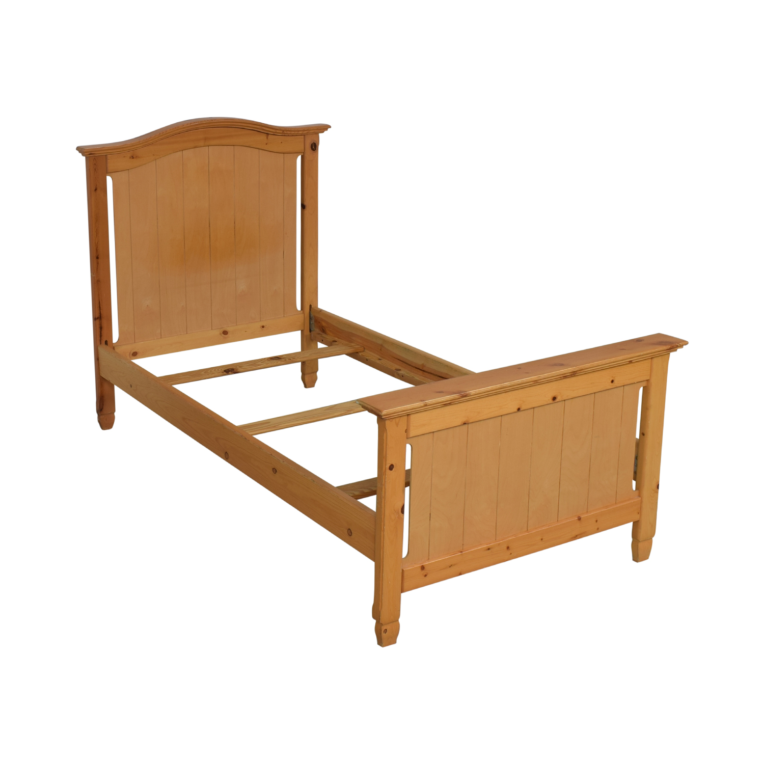 Twin Bed Frame light brown