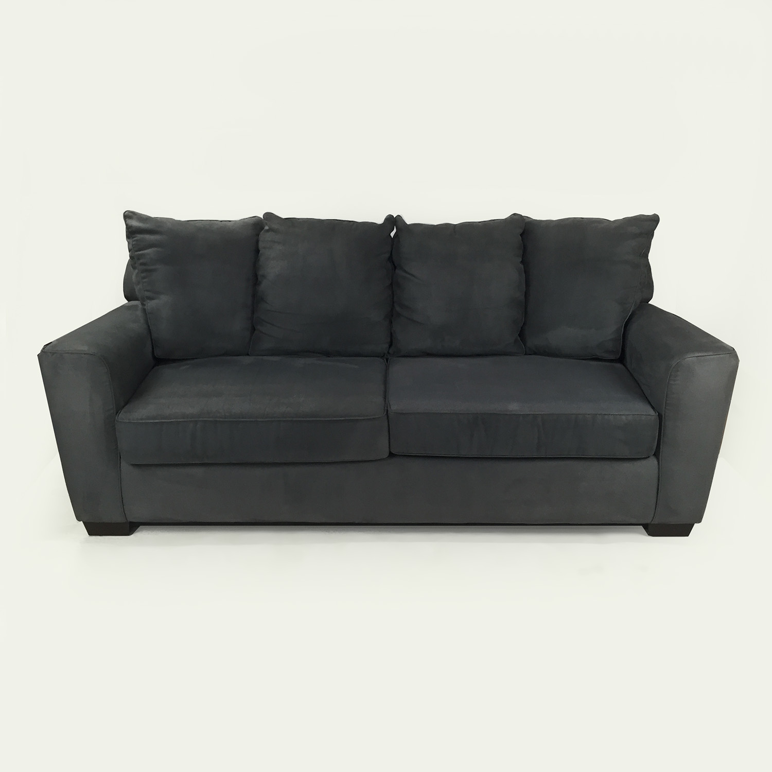 Raymour and Flanigan Raymour & Flanigan Microfiber Sofa dimensions