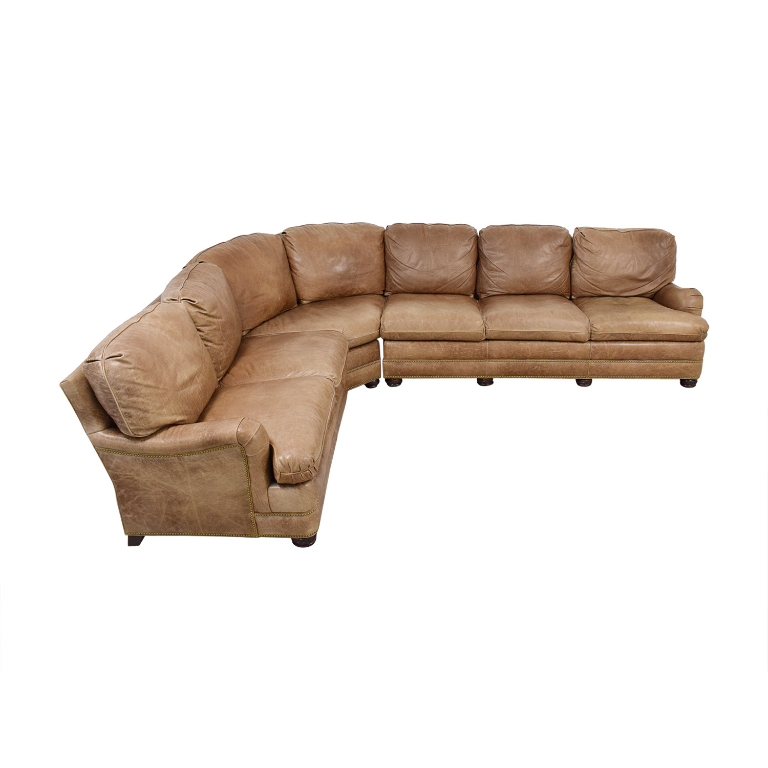 Hancock and Moore Hancock & Moore Leather Sectional Sofa for sale