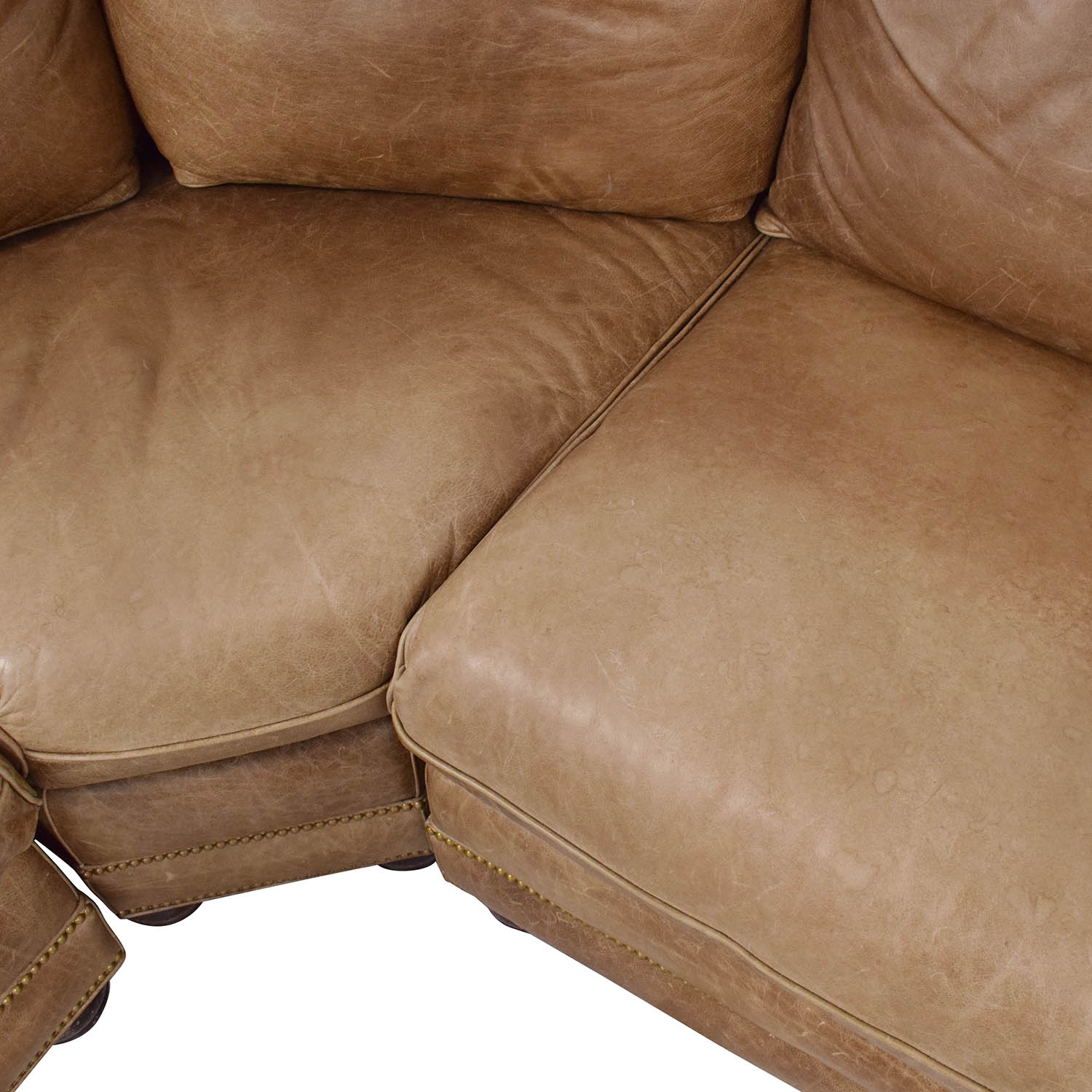 Hancock and Moore Hancock & Moore Leather Sectional Sofa Sectionals