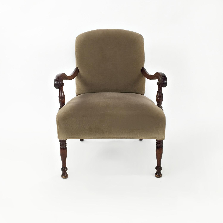 Custom Late 19th Century Armchair