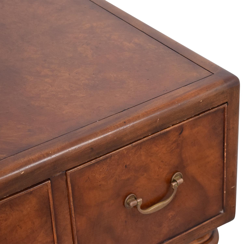 Thomasville Thomasville Ernest Hemingway Three Drawer Coffee Table used
