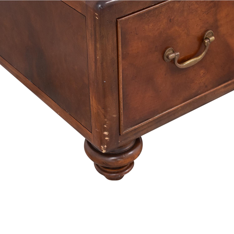 Thomasville Ernest Hemingway Three Drawer Coffee Table / Coffee Tables