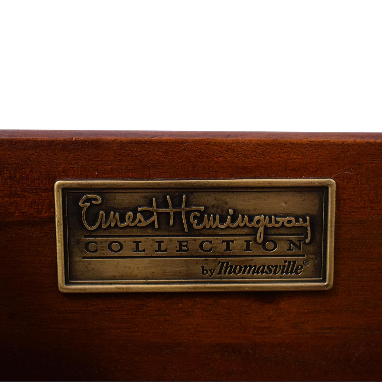 Thomasville Thomasville Ernest Hemingway Three Drawer Coffee Table nyc