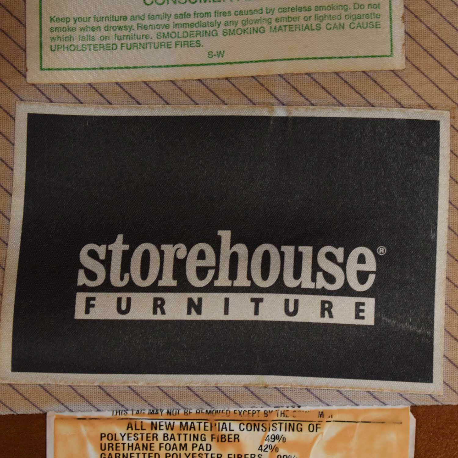 Storehouse Furniture Rolled Arm Chair / Chairs