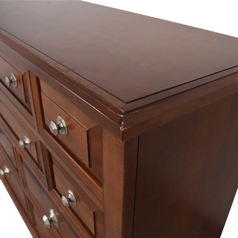 Vaughan-Bassett Vaughan-Bassett Triple Dresser Storage