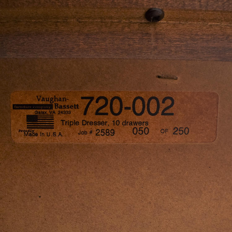 buy Vaughan-Bassett Triple Dresser Vaughan-Bassett Storage