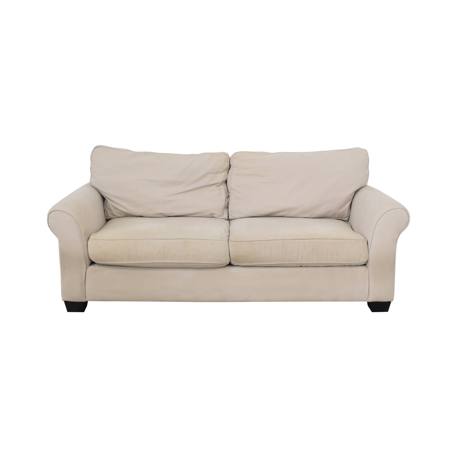buy Pottery Barn Comfort Roll Arm Upholstered Sofa Pottery Barn Sofas