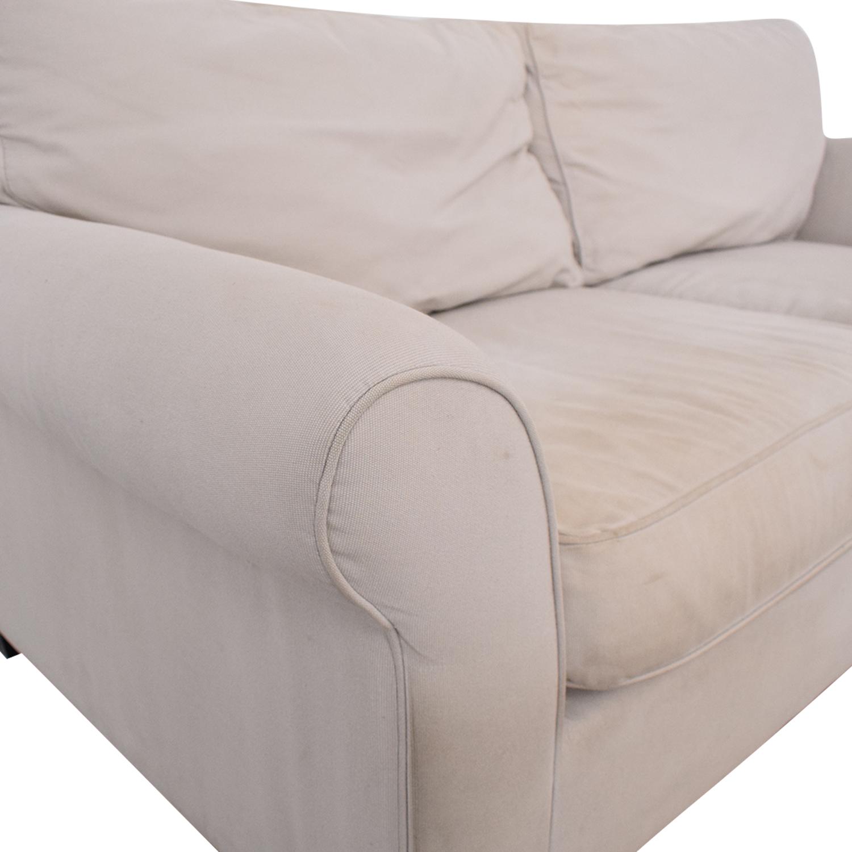 buy Pottery Barn Comfort Roll Arm Upholstered Sofa Pottery Barn