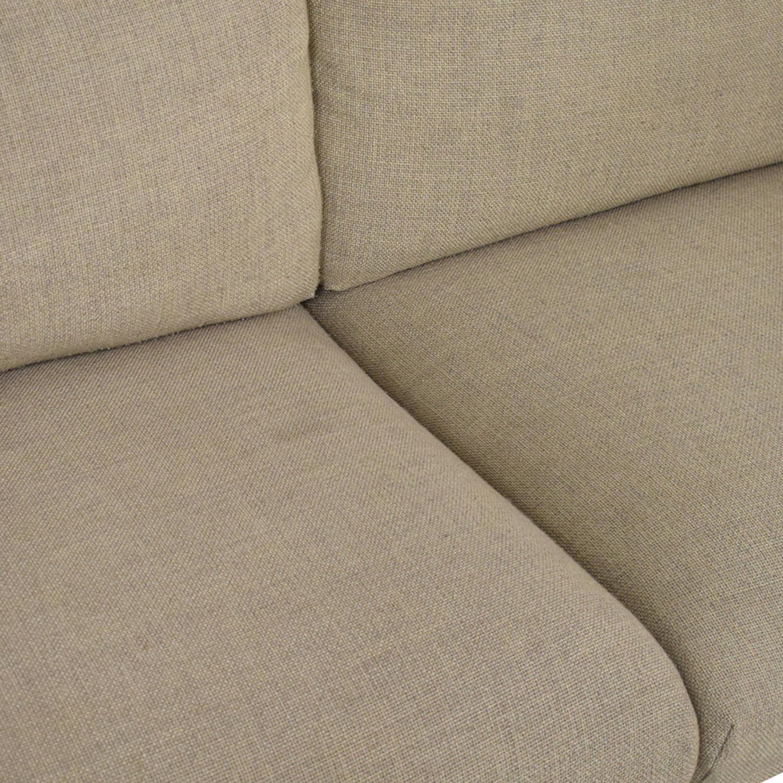buy Ikea Nockeby Three-Seat Sofa IKEA