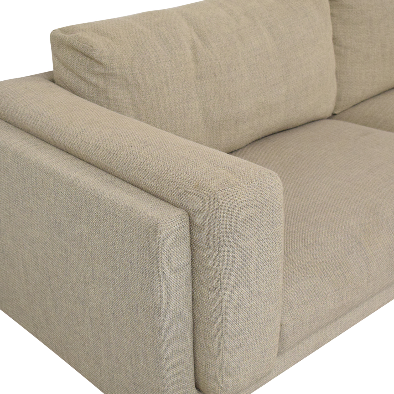 IKEA Ikea Nockeby Three-Seat Sofa Classic Sofas
