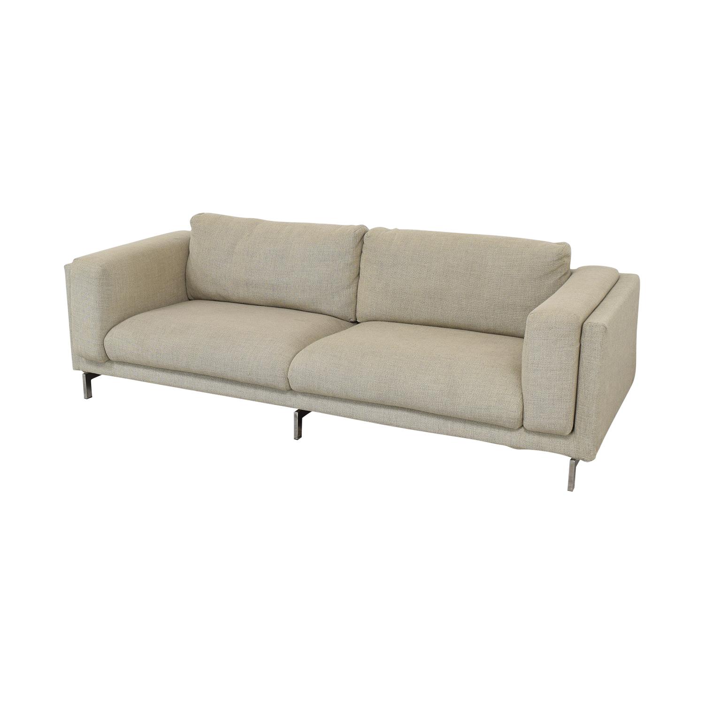 Ikea Nockeby Three-Seat Sofa sale