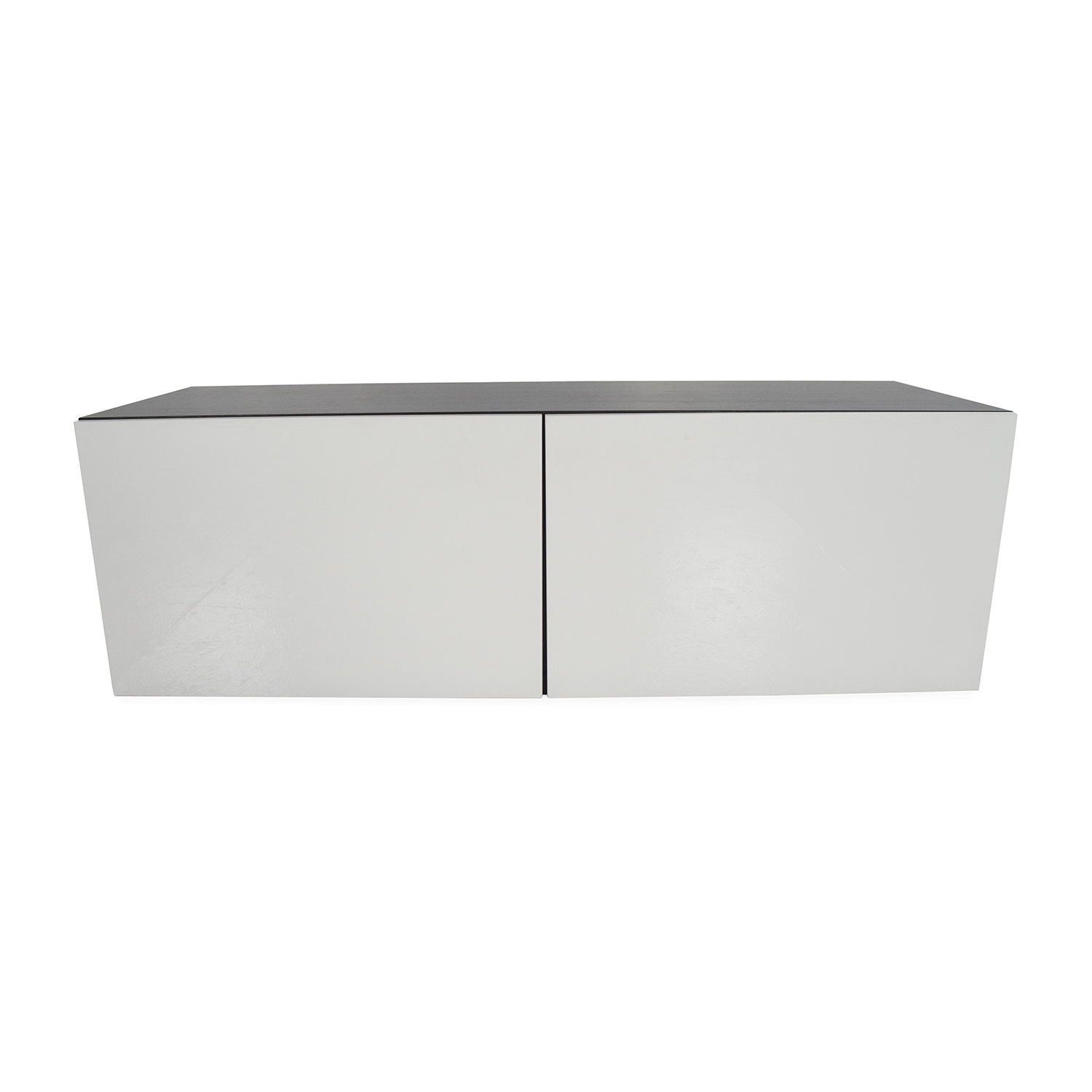 Exceptionnel IKEA IKEA Low Cabinet Black U0026 White ...