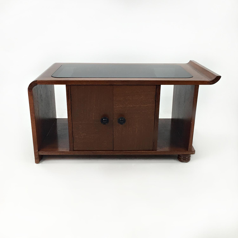 Custom 1930s Coffee Table U0026 Mini Bar Coffee Tables