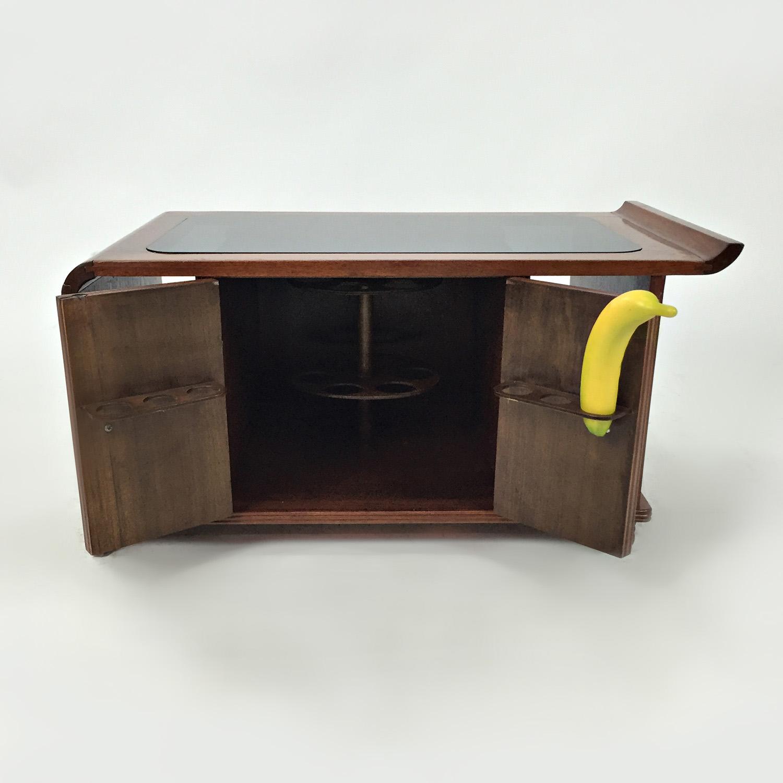72 off custom 1930 39 s coffee table mini bar tables for Mini coffee bar