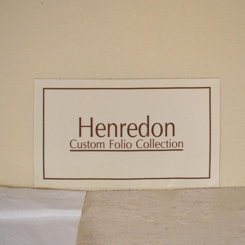 Henredon Furniture Henredon Furniture Roll Arm Accent Chair pa