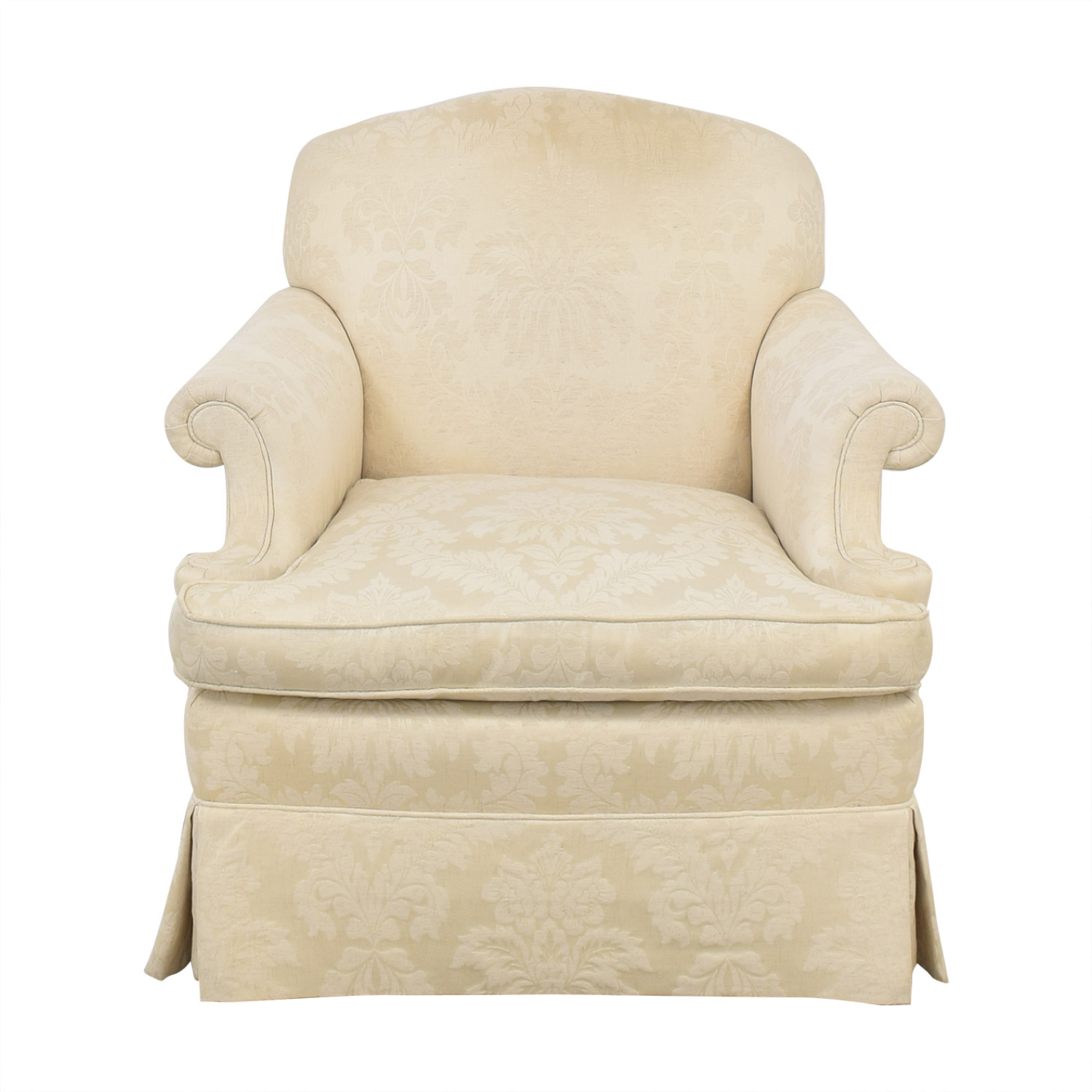 Henredon Furniture Roll Arm Accent Chair / Accent Chairs