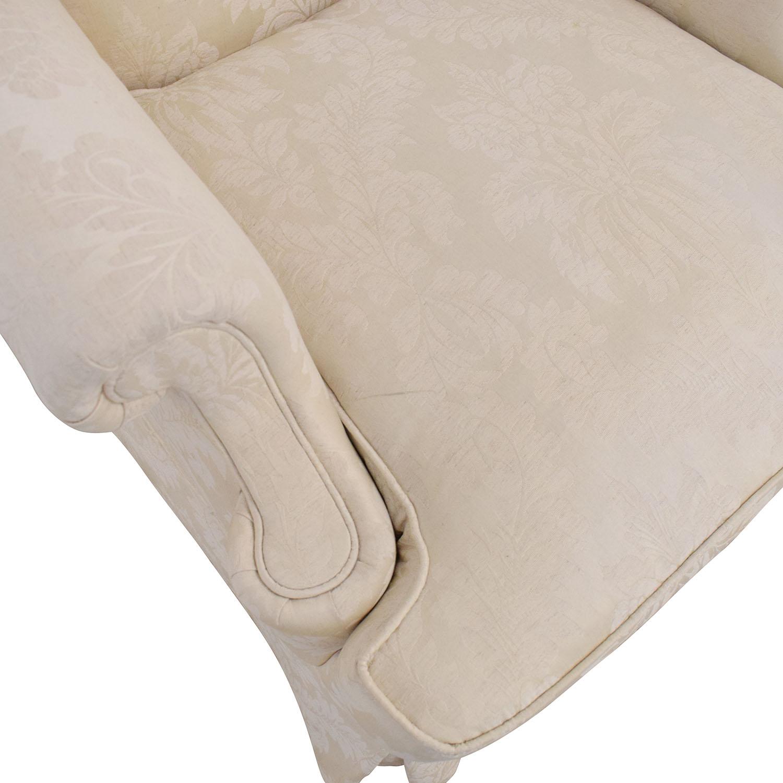 shop Henredon Furniture Roll Arm Accent Chair Henredon Furniture
