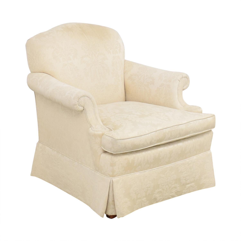 Henredon Furniture Henredon Furniture Roll Arm Accent Chair