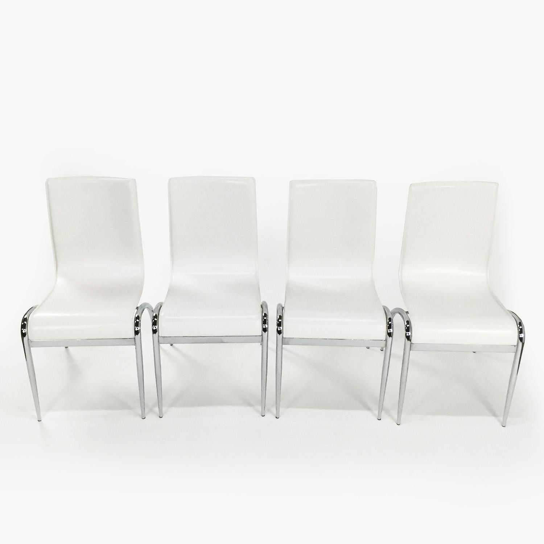 Euro Style Euro Style White Chair Set