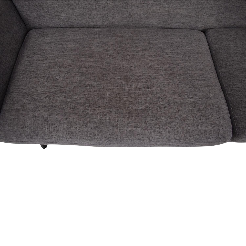 LexMod Engage Mid-Century Modern Sofa LexMod
