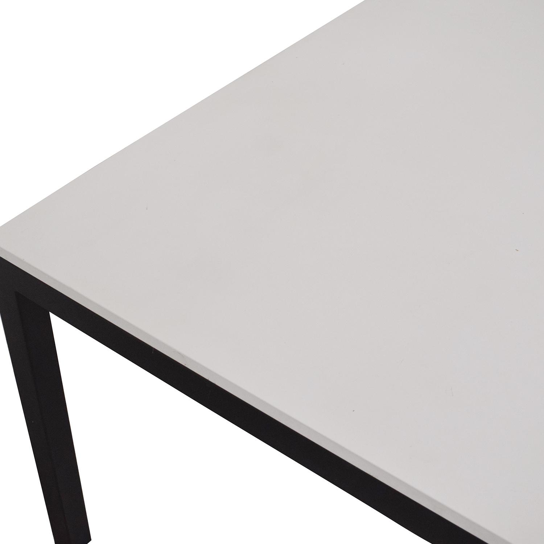 Room & Board Room & Board Parson Table white