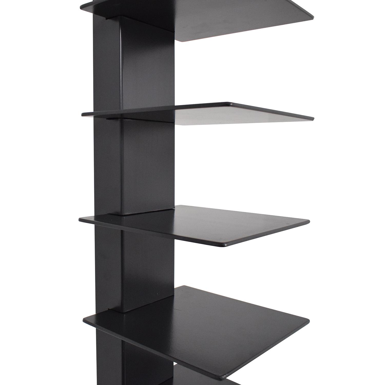 Sapiens-Style Bookcase dark grey