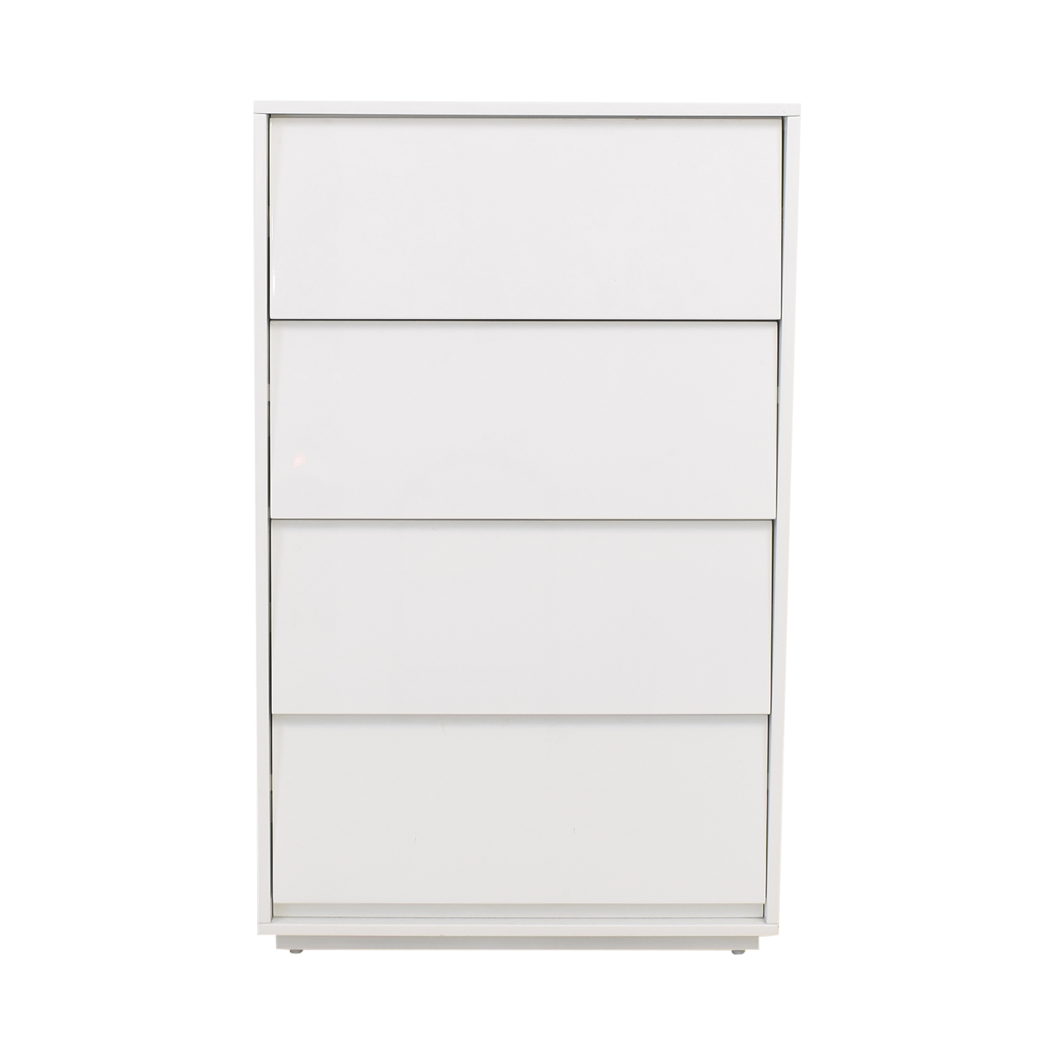 shop CB2 Shake Tall Four Drawer Chest CB2 Dressers