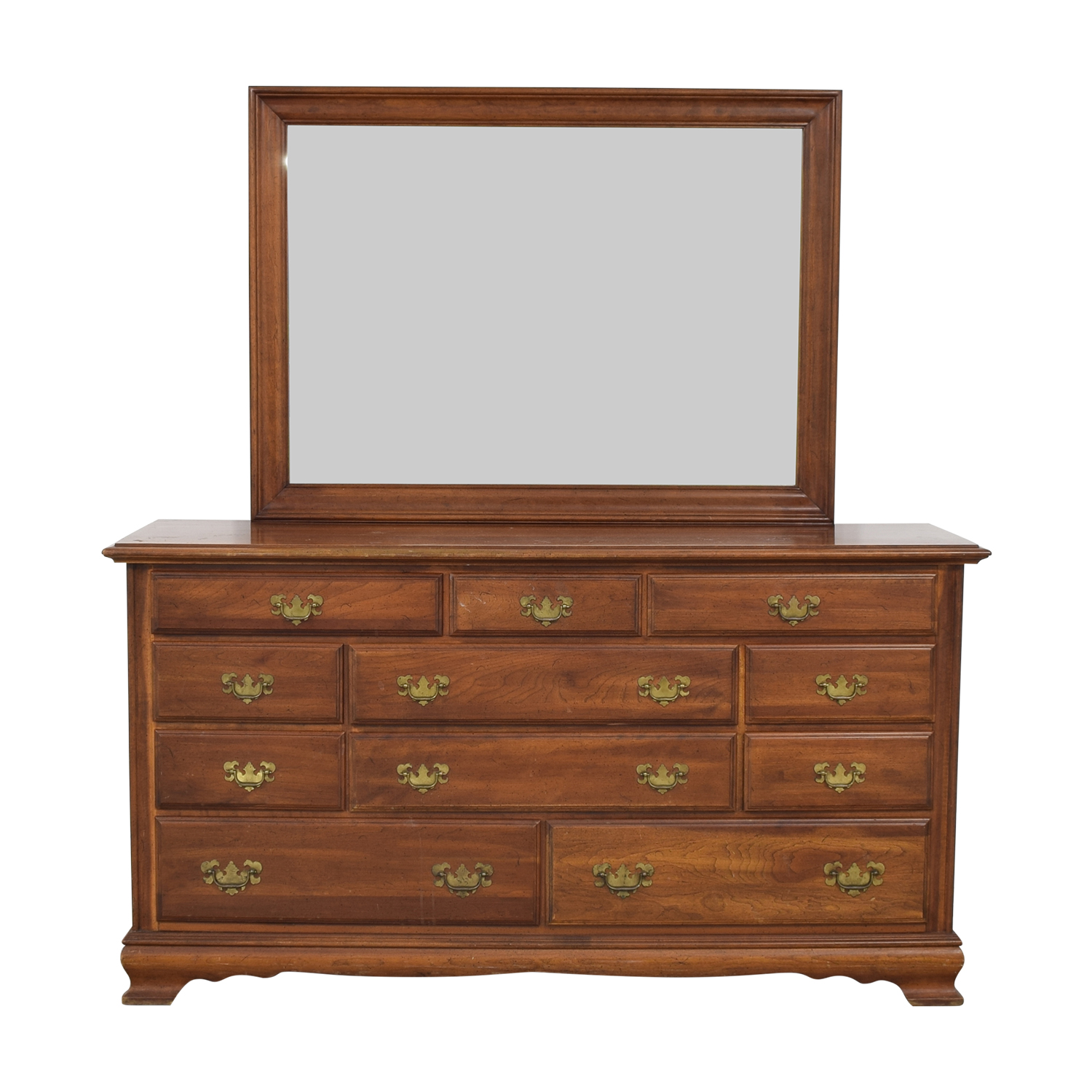 Pennsylvania House Dresser with Mirror Pennsylvania House