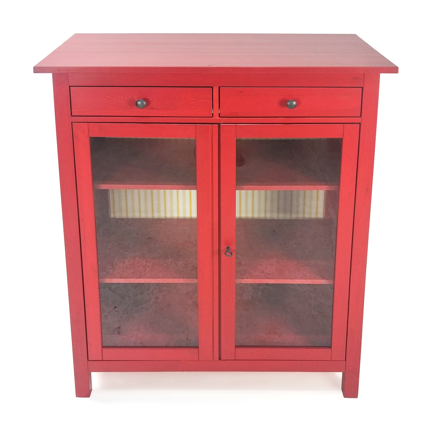 shop Cherry Glass Cabinet IKEA Storage