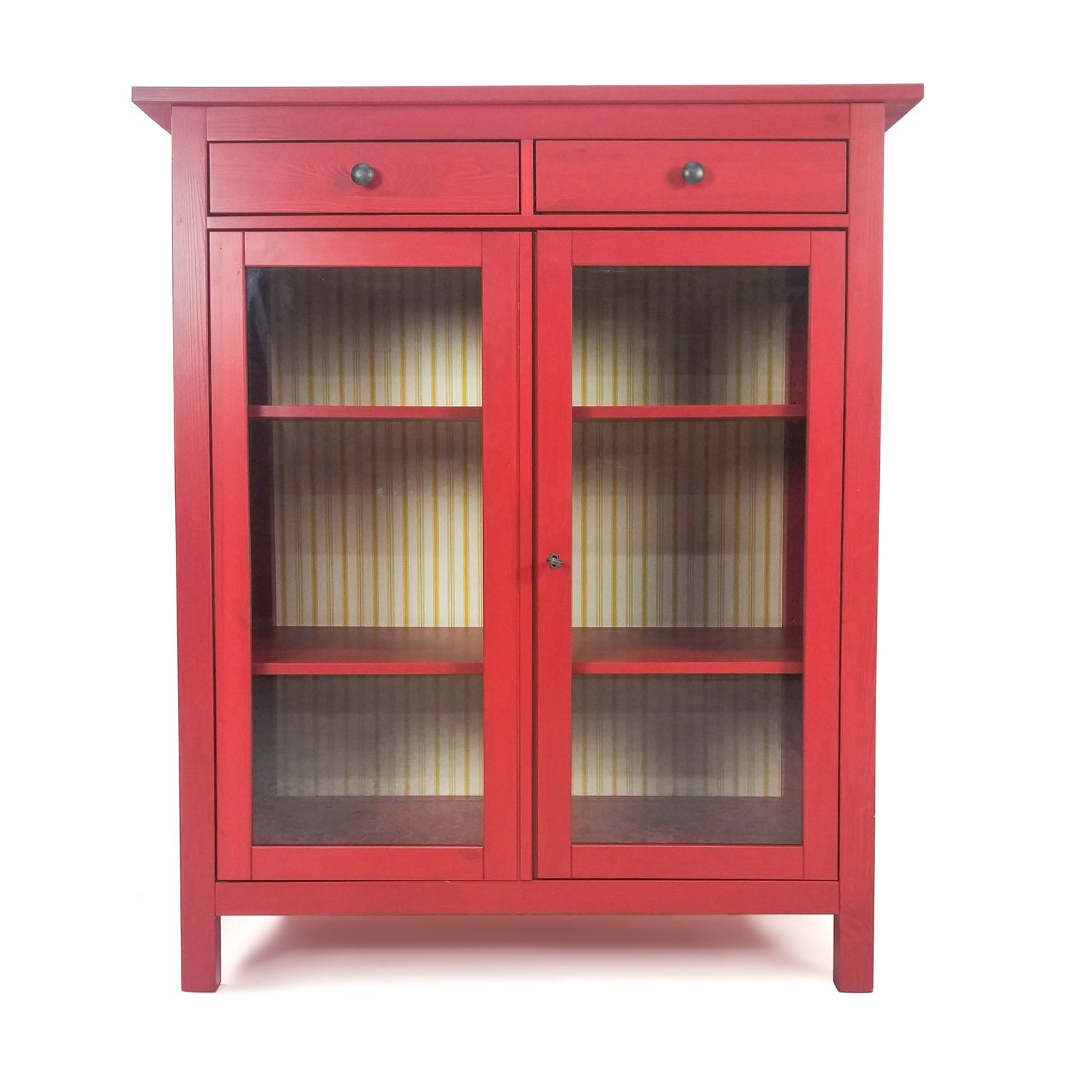 Cherry Glass Cabinet IKEA