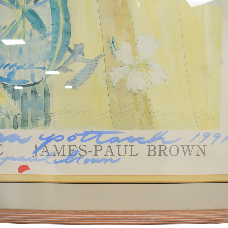buy  James-Paul Brown Print online