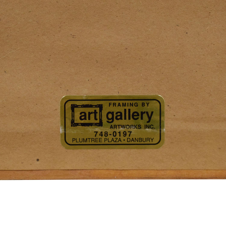 buy James-Paul Brown Print  Decor