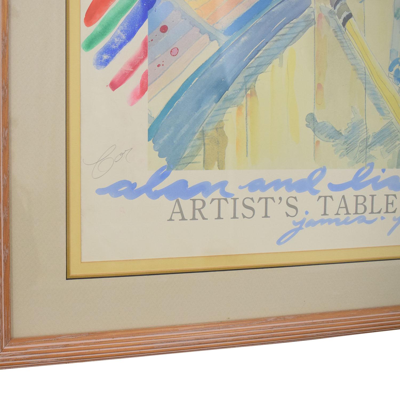 James-Paul Brown Print used