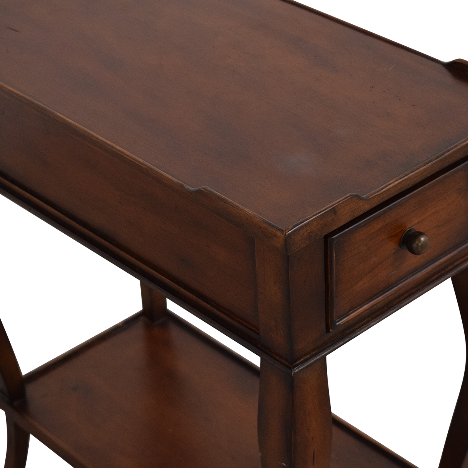 Ethan Allen Ethan Allen Solid Wood Side Accent Table price