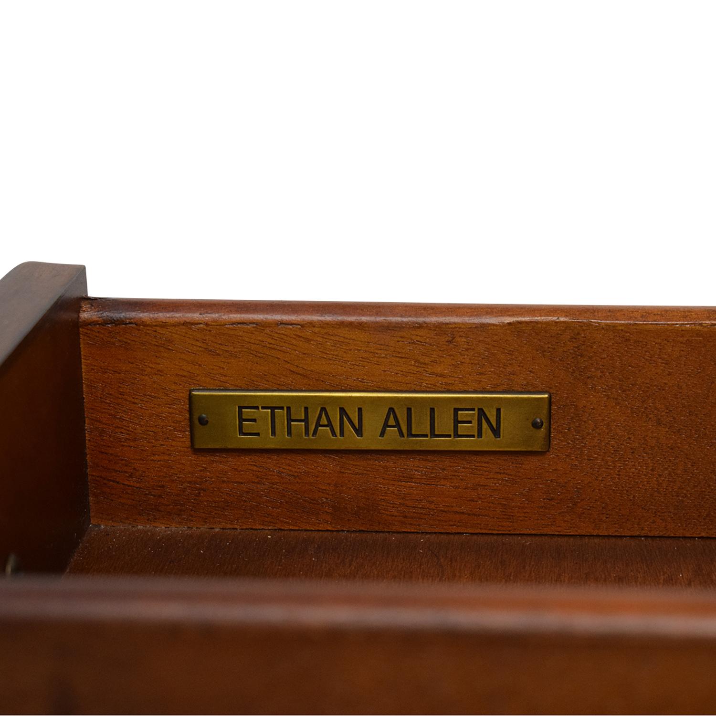 buy Ethan Allen Ethan Allen Solid Wood Side Accent Table online
