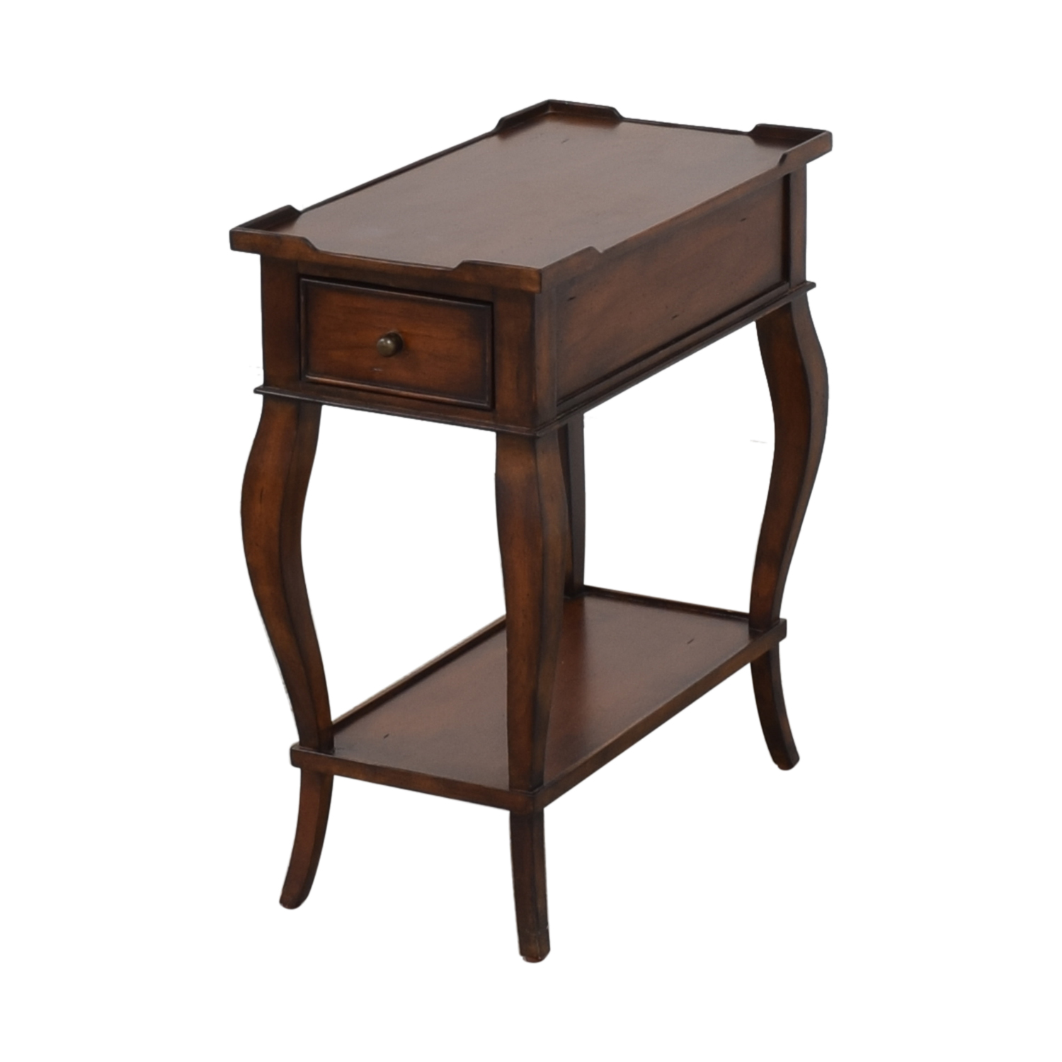 Ethan Allen Ethan Allen Solid Wood Side Accent Table on sale