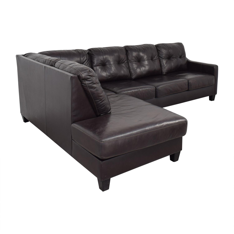 Ashley Furniture Ashley Furniture Chaise Sectional Sofa ma