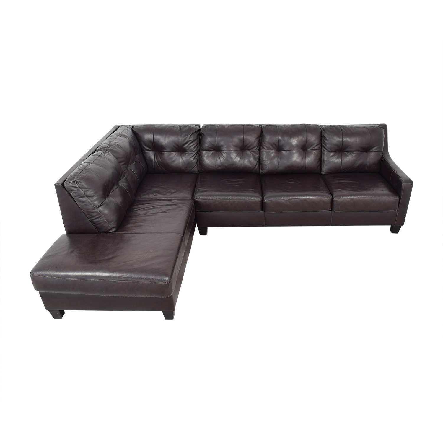 shop Ashley Furniture Ashley Furniture Chaise Sectional Sofa online