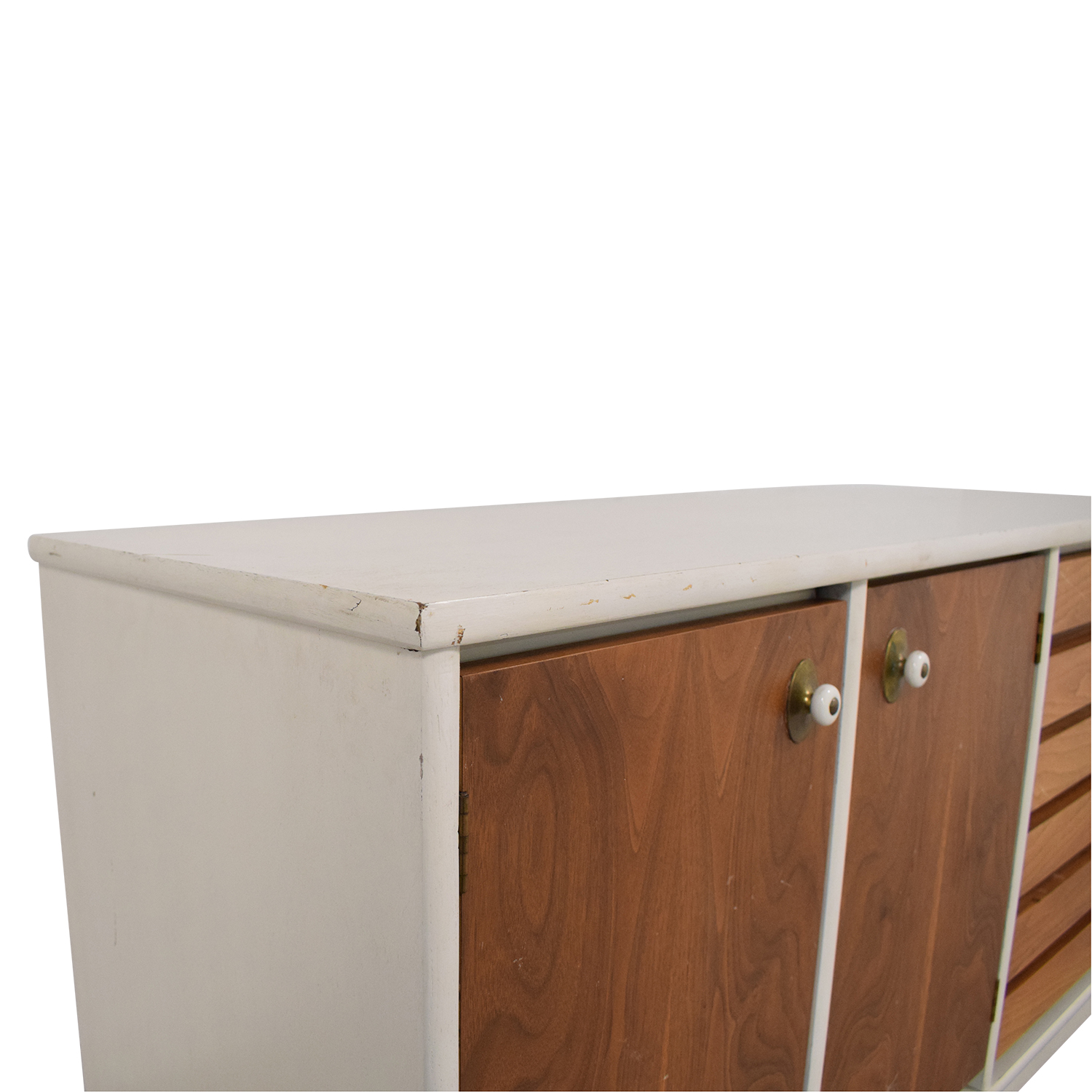 Stanley Mid Century Modern Credenza / Cabinets & Sideboards
