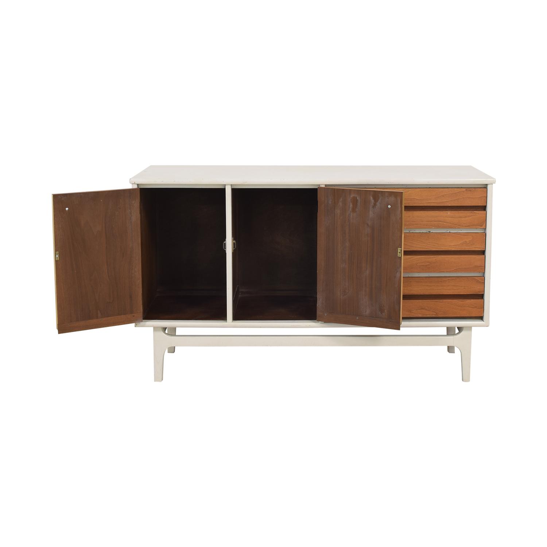 Stanley Mid Century Modern Credenza / Storage