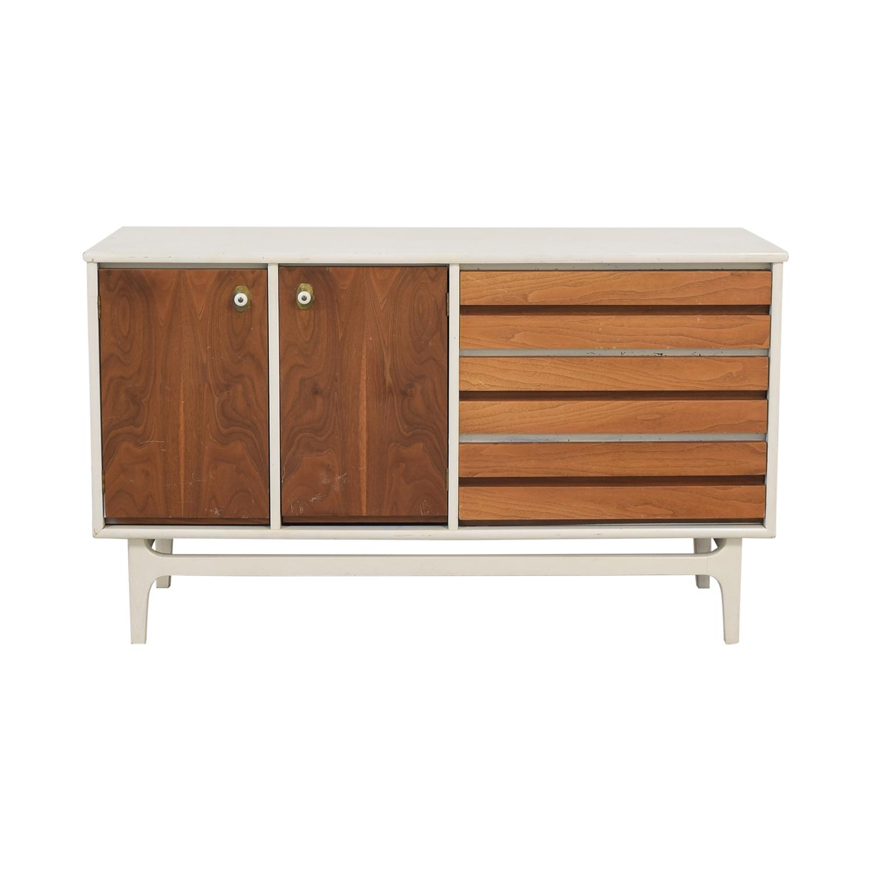 buy Stanley Mid Century Modern Credenza Stanley Furniture